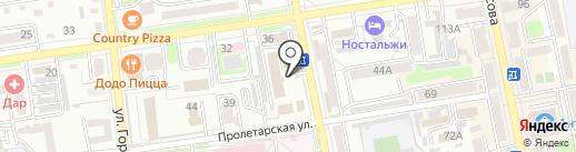 Магазин овощей и фруктов на карте Уссурийска