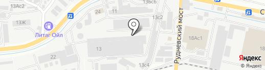 Дом на карте Владивостока