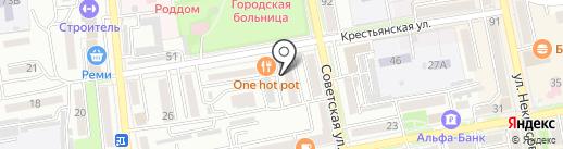 Русь на карте Уссурийска