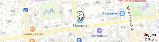 Mel bet на карте Уссурийска