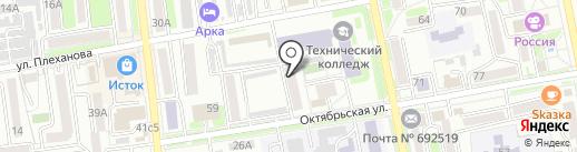 Стоматологический кабинет на карте Уссурийска