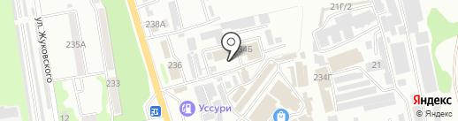 Хлопковый рай на карте Уссурийска