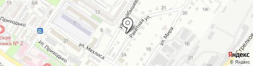 Техносервис на карте Владивостока