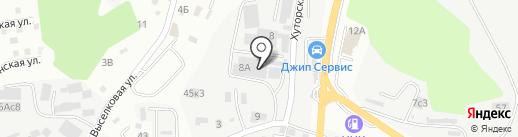 ДВ ТЭК на карте Владивостока