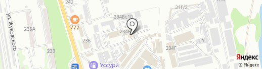 Энергосфера на карте Уссурийска