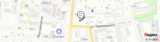 Магазин отделочных материалов на карте Уссурийска