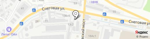 NIIGATA-PARTS на карте Владивостока