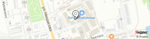 Олимп на карте Уссурийска