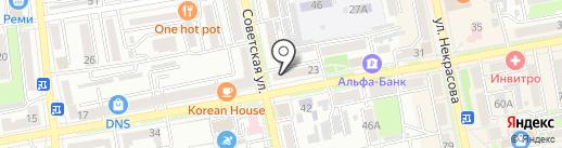 Студия современного массажа Натальи Ребровой на карте Уссурийска