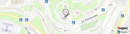 Артекс на карте Владивостока