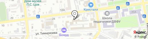 Shel на карте Уссурийска