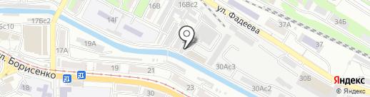 Тема на карте Владивостока