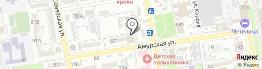 МЕГА-Дент на карте Уссурийска