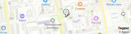 Nail Studio Анастасии Коренчак на карте Уссурийска