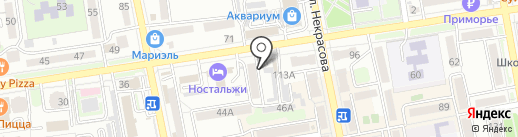 Сервисный центр на карте Уссурийска