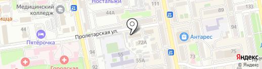 Жэу-7 на карте Уссурийска