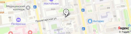 Магазин женского белья на карте Уссурийска