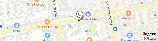 Дора на карте Уссурийска
