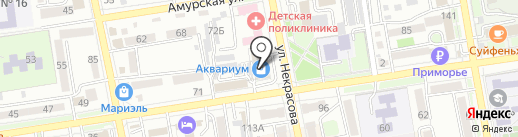 Lasagrada на карте Уссурийска