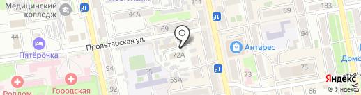 Деловой свет на карте Уссурийска