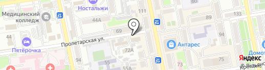 ТЕС на карте Уссурийска