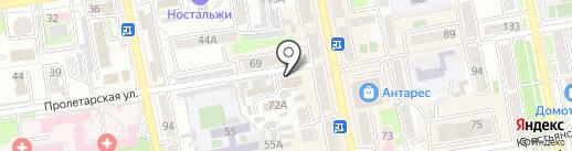 Вита-Стом на карте Уссурийска
