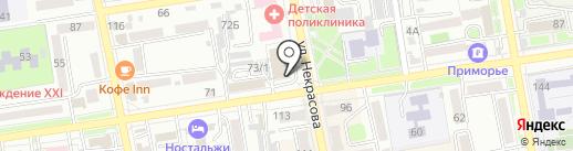Деловой каприз на карте Уссурийска