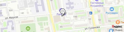 Гранат-1 на карте Уссурийска