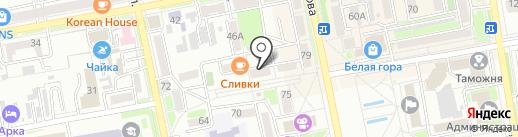 Адвокатский кабинет Никитенко Д.А. на карте Уссурийска