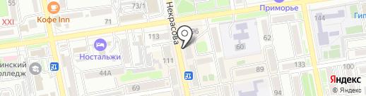 Эталон 1 на карте Уссурийска
