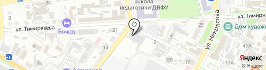 Камион на карте Уссурийска