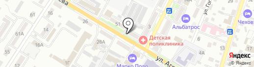 Бухгалтерско-регистрационный центр на карте Уссурийска
