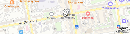 Адвокатский кабинет Горблянского Д.В. на карте Уссурийска