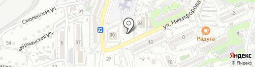 Дилан на карте Владивостока