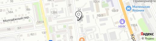 Влад Ко на карте Уссурийска