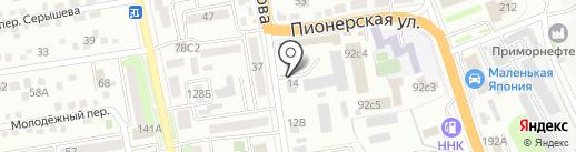 Востоксельэлектросетьстрой на карте Уссурийска