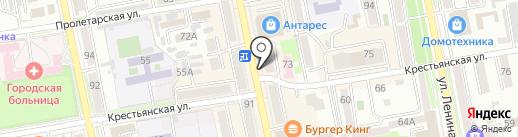 Билайн на карте Уссурийска