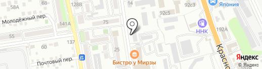 Бумага Сервис на карте Уссурийска