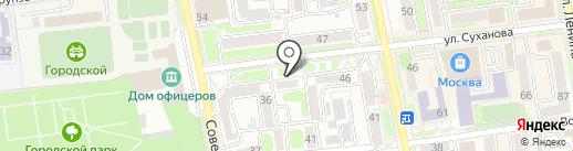ЗЕБРА на карте Уссурийска