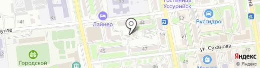 Luxury lashes studio на карте Уссурийска
