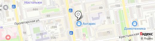 Чайкоффский на карте Уссурийска