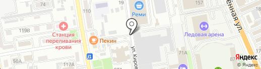 Авторемзавод на карте Уссурийска