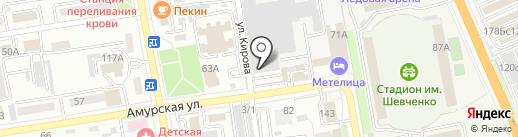 Уссурийский Авторемонтный Завод на карте Уссурийска