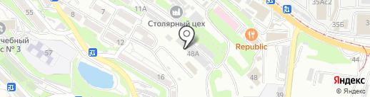 Дв Арт-трейд на карте Владивостока