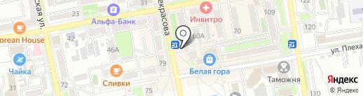 City Place на карте Уссурийска
