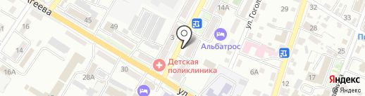 Росгосстрах банк, ПАО на карте Уссурийска