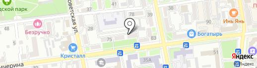 Кружева на карте Уссурийска