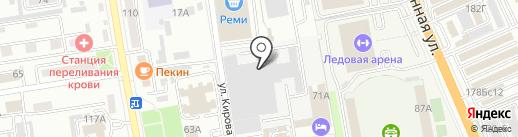ДальГаз на карте Уссурийска