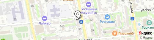 DNS Smart на карте Уссурийска