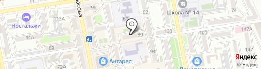 Библиотека семейного чтения №1 на карте Уссурийска
